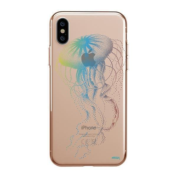 JELLY FISH - IPHONE CLEAR CASE