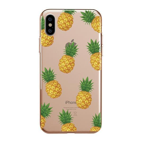 PINEAPPLE OVERLOAD - IPHONE CLEAR CASE