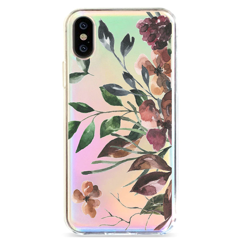 BOTANICAL DREAMS - HOLOGRAPHIC IPHONE CASE