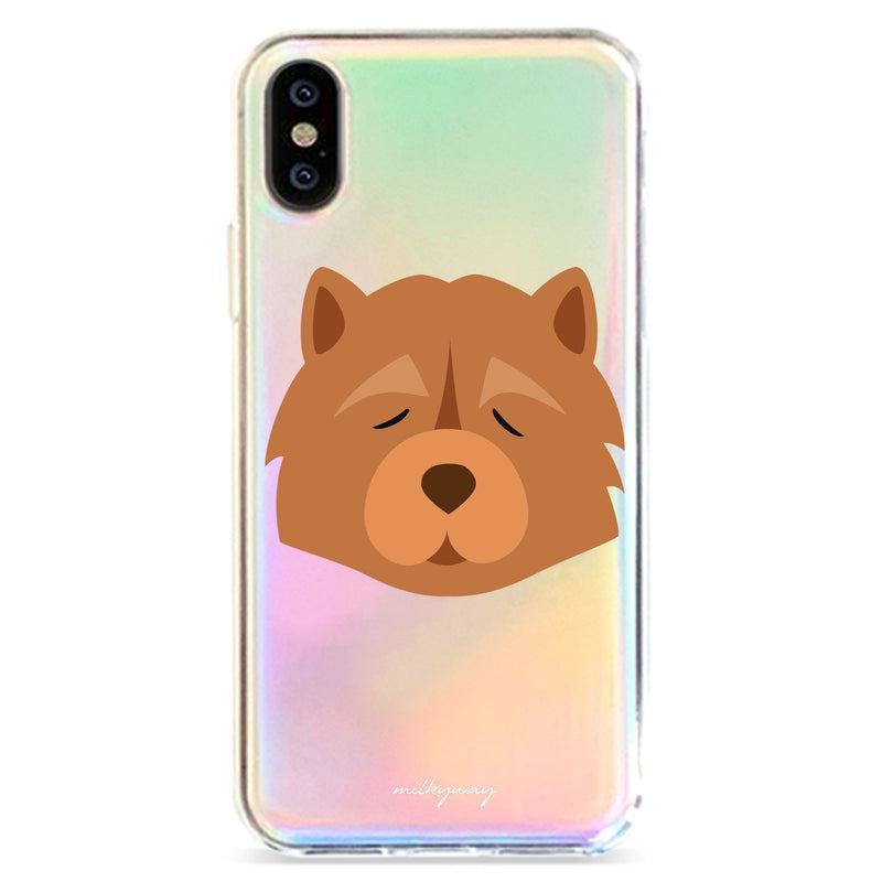 CHOW CHOW - HOLOGRAPHIC IPHONE CASE