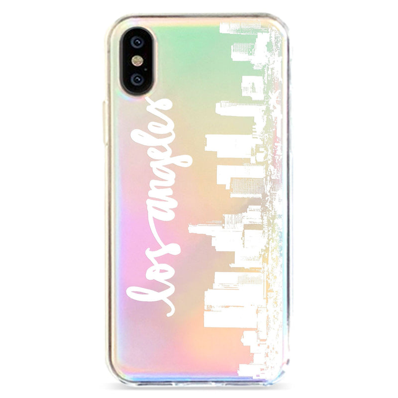 LA SKYLINE - HOLOGRAPHIC IPHONE CASE