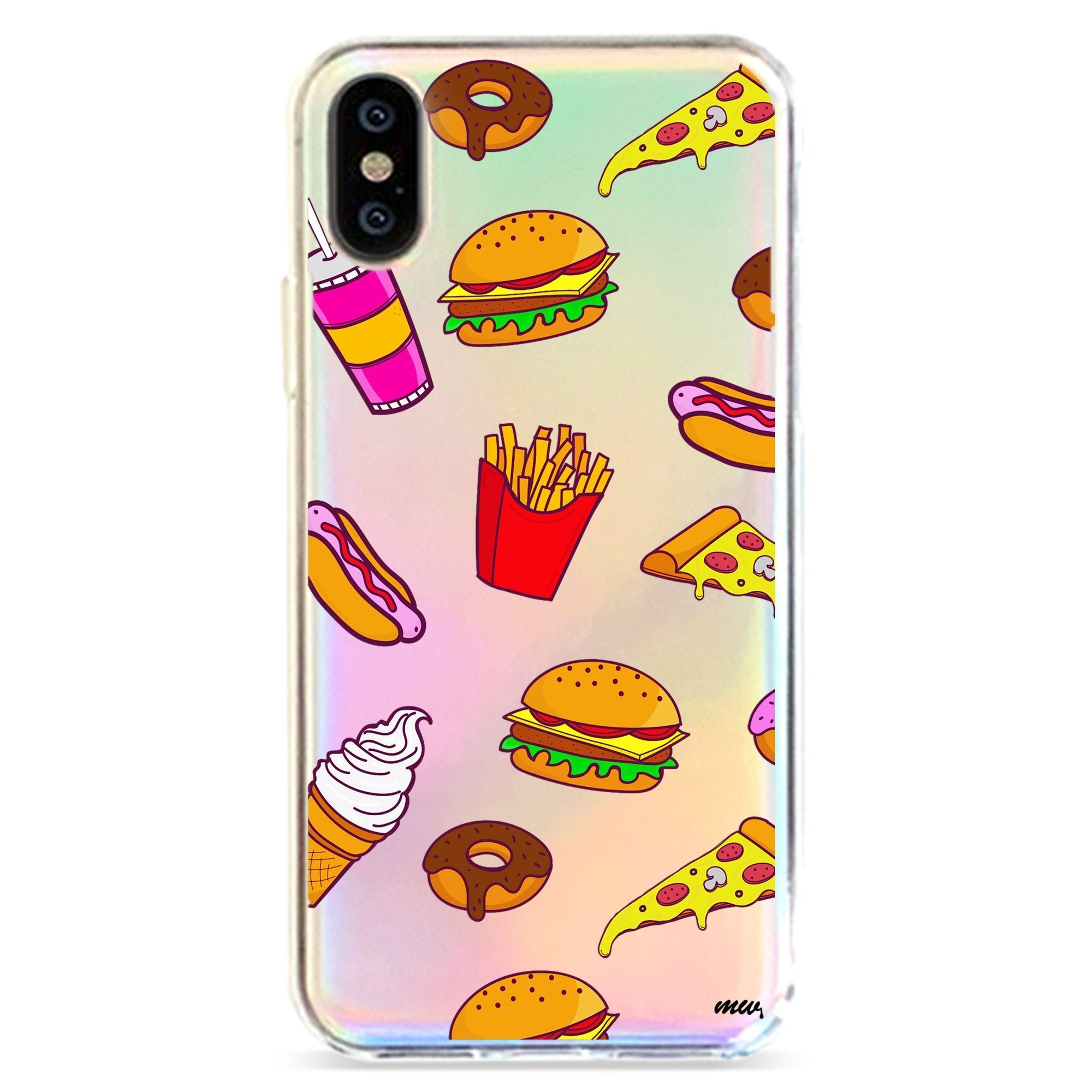 FAST FOOD - HOLOGRAPHIC IPHONE CASE