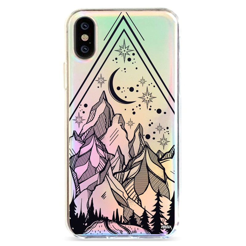 HAPPY CAMPER - HOLOGRAPHIC IPHONE CASE