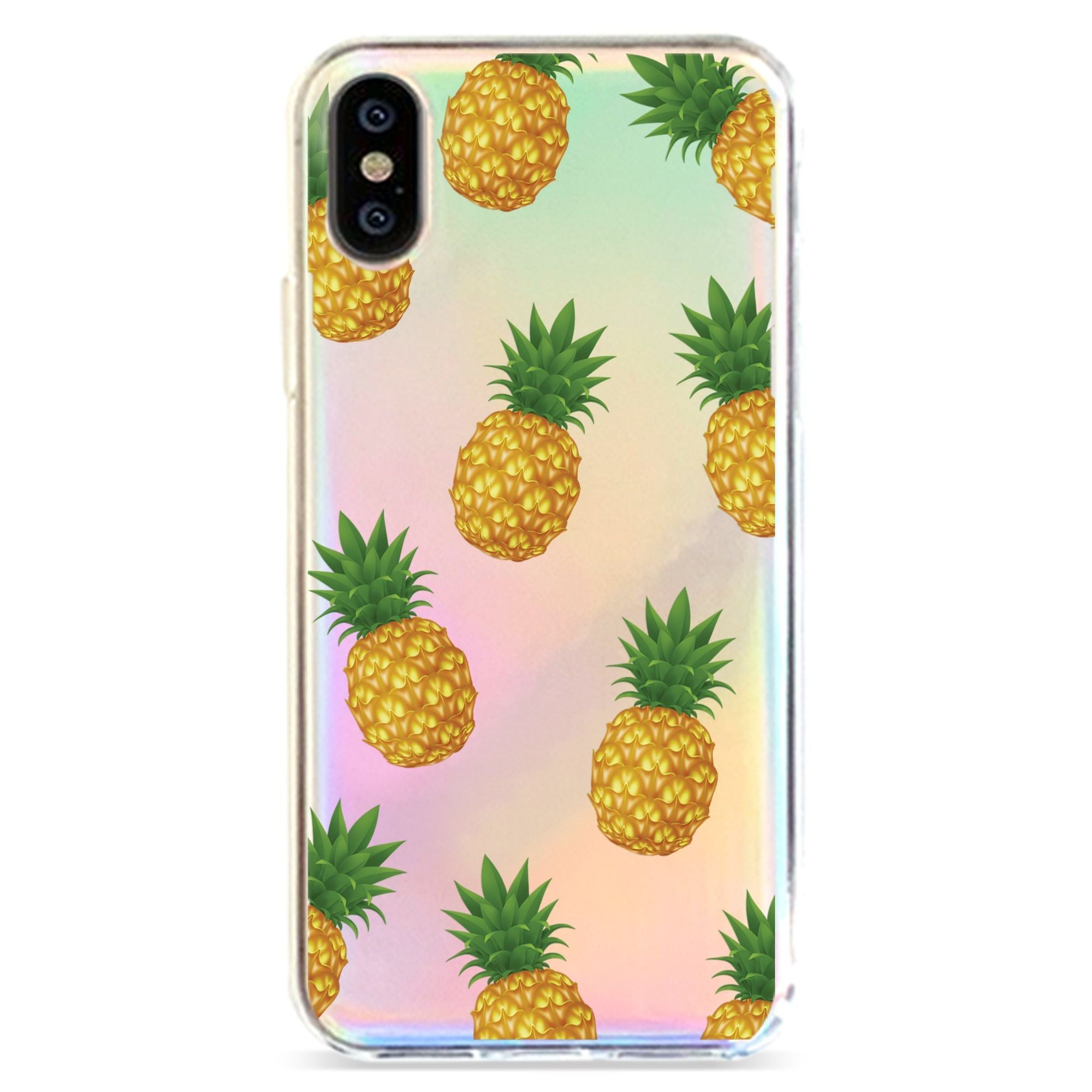 PINEAPPLE OVERLOAD - HOLOGRAPHIC IPHONE CASE