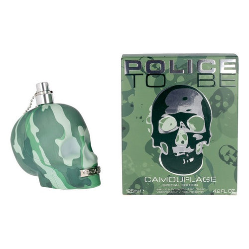 Perfume Homem Camouflage Police EDT (125 ml)