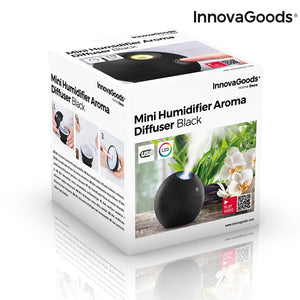Mini-Humidificador Difusor de Aromas Black
