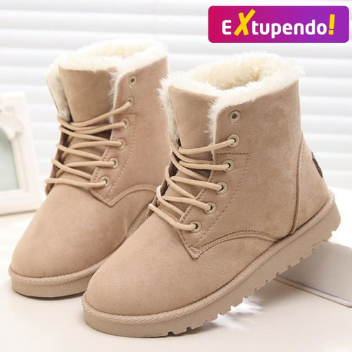 Botas Snow Hot Beige / 34