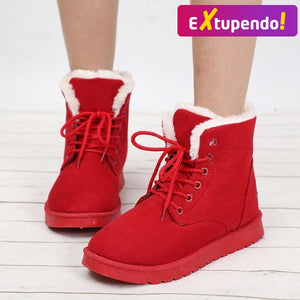 Botas Snow Hot Red / 34