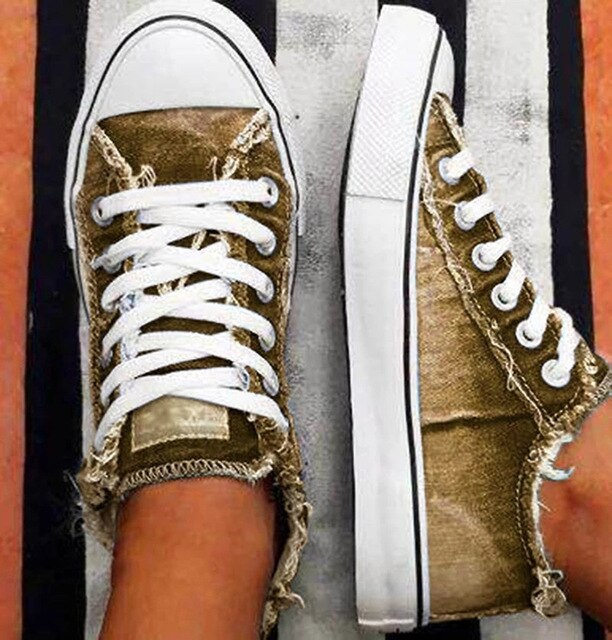 Sneakers Summer Gold