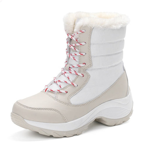 Botas Inverno Snow Classe White - Woman Fashion