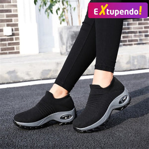 Sneakers Superflex Femininos Black / 35