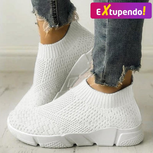 Women Casual Sneakers Flyknit