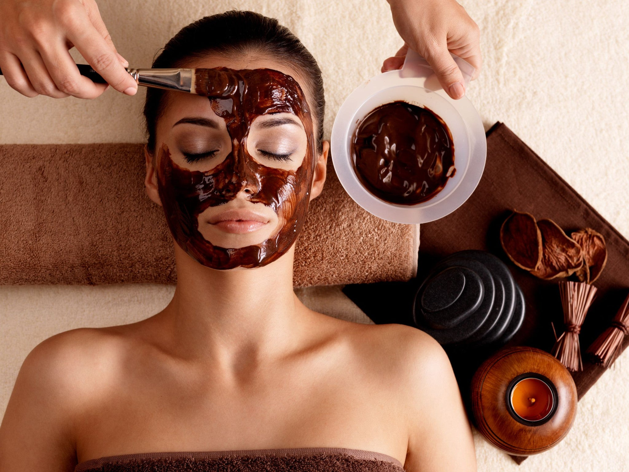 Mayan Chocolate Souffle Mask For Glowing Skin | DIY Beauty