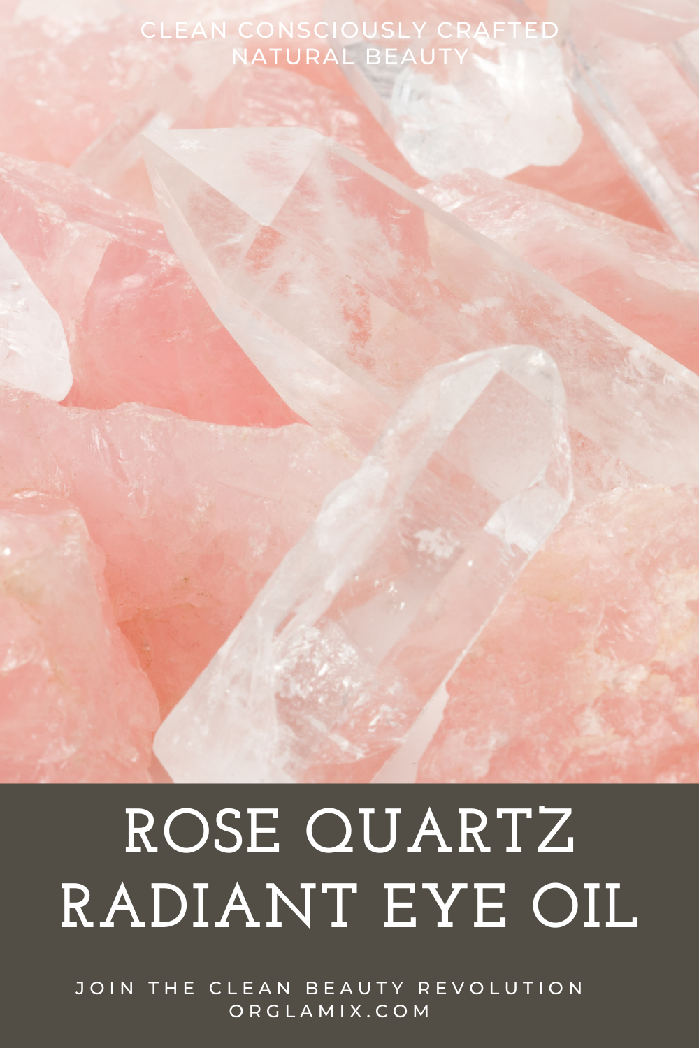 New Rose Quartz Radiant Eye Oil | Orglamix