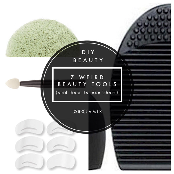 7 Weird Beauty Tools (And How TO Use Them)