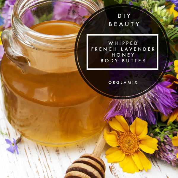 DIY Beauty: Whipped French Lavender Honey Body Butter