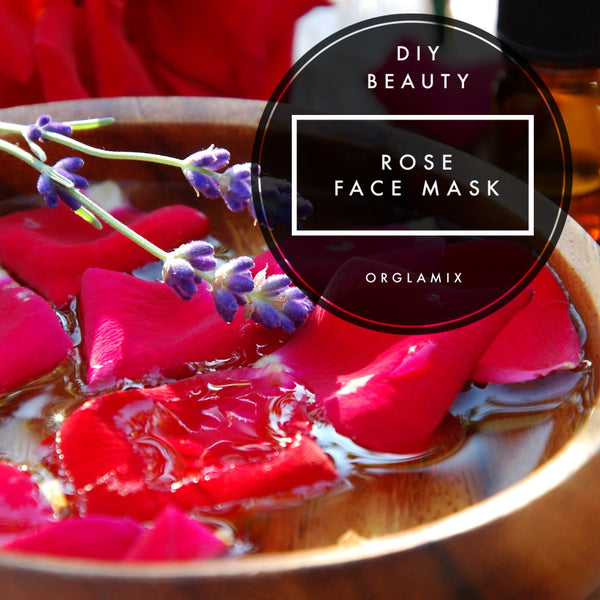 DIY Beauty: Rose Face Mask
