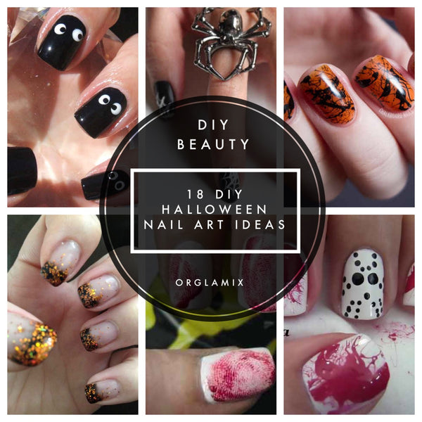 18 DIY Halloween Nail Art Ideas