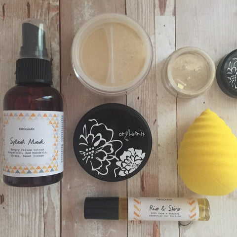 NON TOXIC BEAUTY BOX | ORGLAMIX | HELLO, SUNSHINE