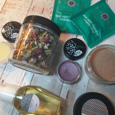 Cruelty Free + Vegan Beauty Box by Orglamix ❤ Handmade | MOROCCAN HAMMAM