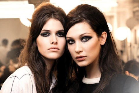 Backstage Beauty Trend We ♥ MESSED UP EYE MAKEUP