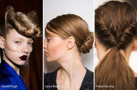 Backstage Beauty Trend We ♥ TWIST + KNOT HAIR STYLES