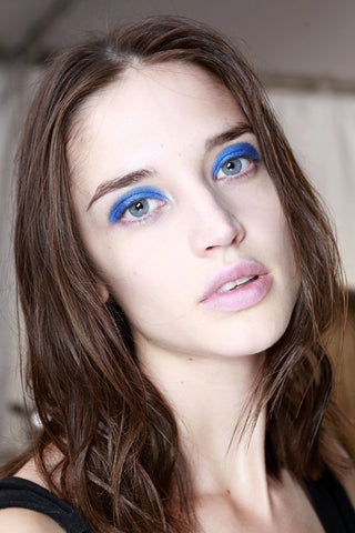 Backstage Beauty Trend We ♥ BLUE EYESHADOW