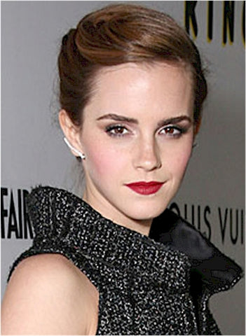 Emma Watson | Bright Red Lip | Celeb Beauty Tips + Tricks