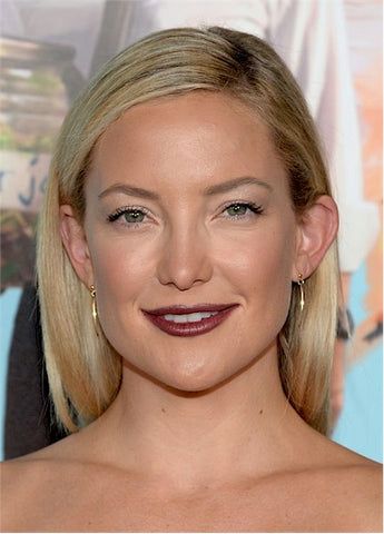 Kate Hudson | Wine Lips | Celeb Beauty Tips + Tricks