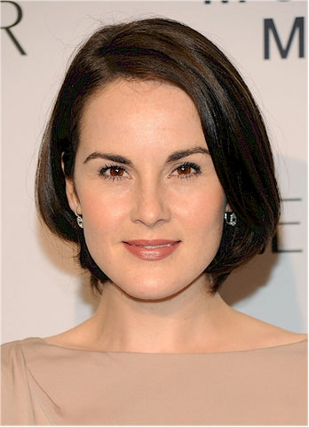 Michelle Dockery | Super Sleek Hair