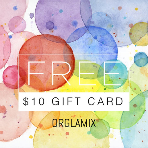 $10 ORGLAMIC GIFT CARD