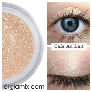 Cafe Au Lait Eyeshadow - Cruelty Free Makeup, Best Mineral Makeup, Natural Beauty Products, Orglamix