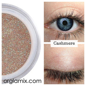 Cashmere Eyeshadow - Cruelty Free Makeup, Best Mineral Makeup, Natural Beauty Products, Orglamix