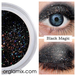 Black Magic Eyeshadow - Cruelty Free Makeup, Best Mineral Makeup, Natural Beauty Products, Orglamix