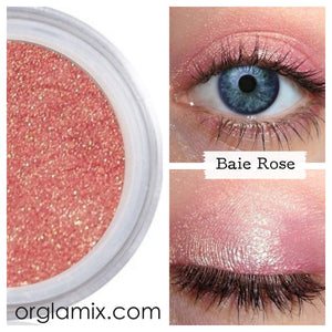 Baie Rose Eye Shadow - Cruelty Free Makeup, Best Mineral Makeup, Natural Beauty Products, Orglamix
