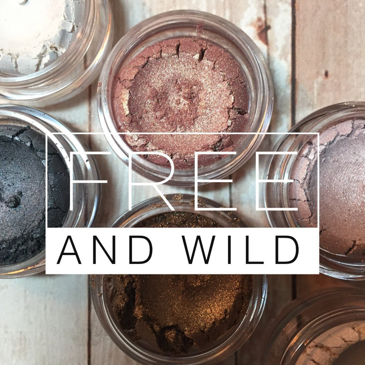 Natural Eyeshadow Duo - Cruelty Free Makeup, Best Mineral Makeup, Natural Beauty Products, Orglamix