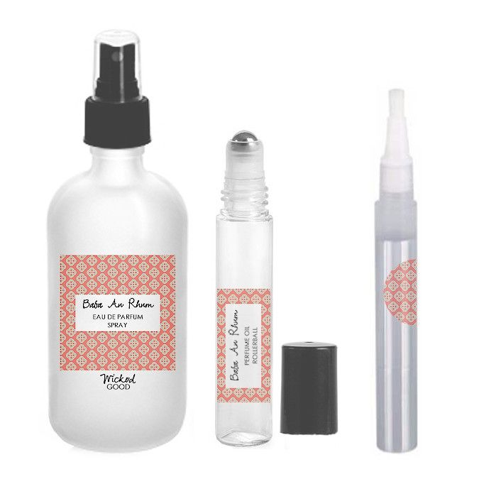 Baba Au Rhum Perfume - Cruelty Free Makeup, Best Mineral Makeup, Natural Beauty Products, Orglamix