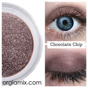 Chocolate Chip Eyeshadow - Cruelty Free Makeup, Best Mineral Makeup, Natural Beauty Products, Orglamix
