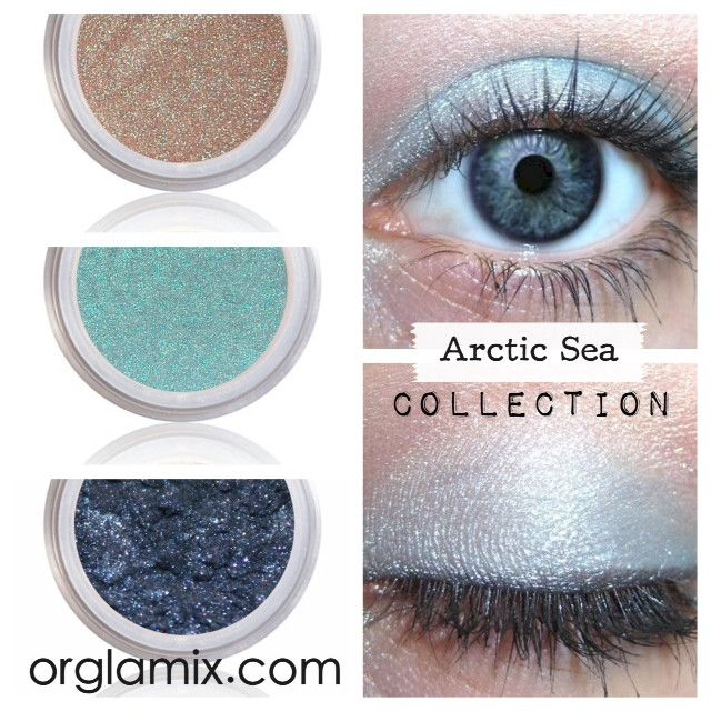 Arctic Sea Collection - Cruelty Free Makeup, Best Mineral Makeup, Natural Beauty Products, Orglamix