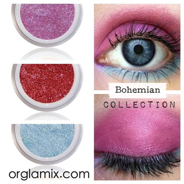 Bohemian Collection - Cruelty Free Makeup, Best Mineral Makeup, Natural Beauty Products, Orglamix