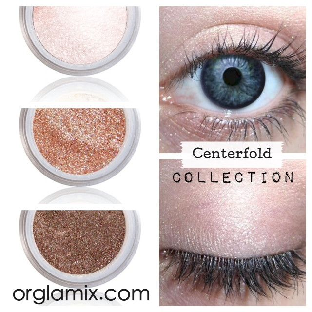 Centerfold Collection - Cruelty Free Makeup, Best Mineral Makeup, Natural Beauty Products, Orglamix