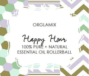 Happy Hour Essential Oil Roll-On - Cruelty Free Makeup, Best Mineral Makeup, Natural Beauty Products, Orglamix