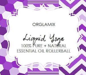 Liquid Yoga Essential Oil Roll-On - Cruelty Free Makeup, Best Mineral Makeup, Natural Beauty Products, Orglamix