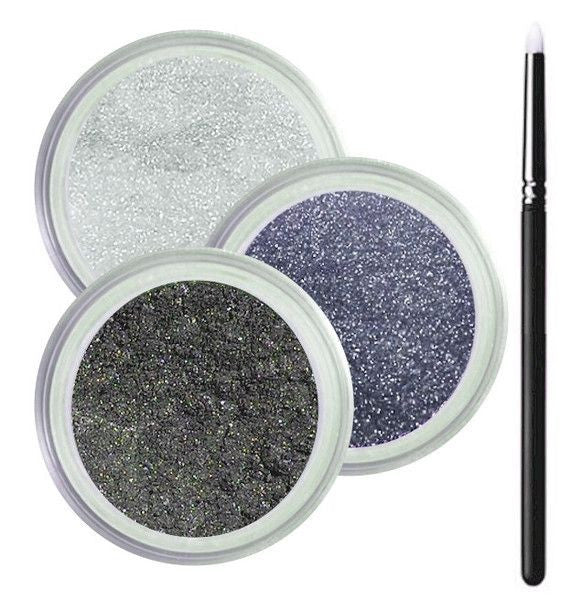Grey Eyes Smokey Collection - Cruelty Free Makeup, Best Mineral Makeup, Natural Beauty Products, Orglamix