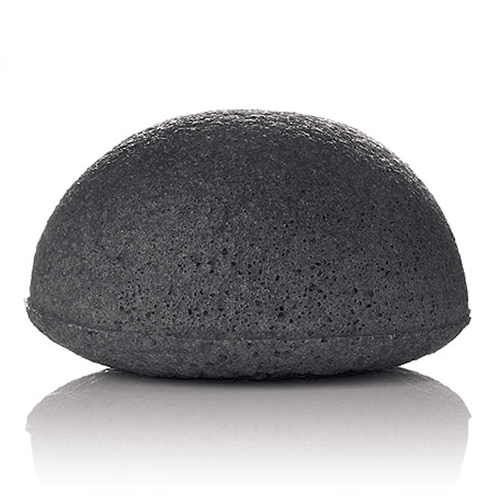 Konjac Sponge Bamboo Charcoal - Cruelty Free Makeup, Best Mineral Makeup, Natural Beauty Products, Orglamix
