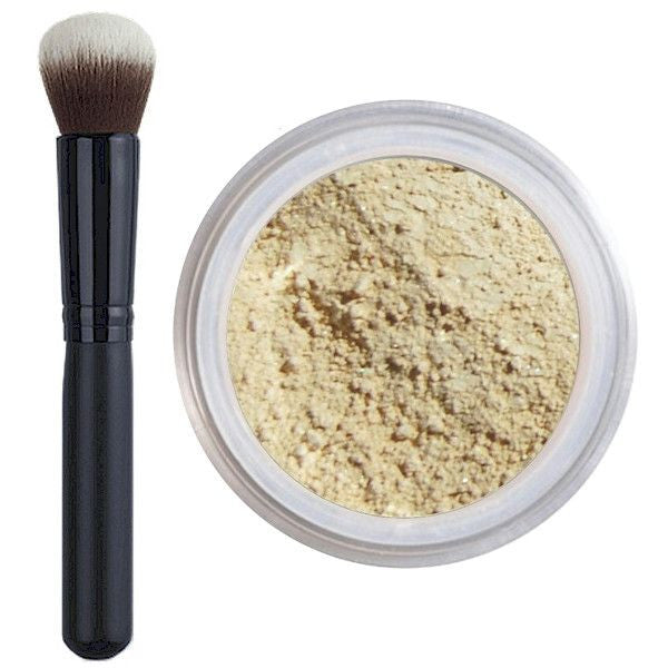 Foundation & Brush Kit - Cruelty Free Makeup, Best Mineral Makeup, Natural Beauty Products, Orglamix