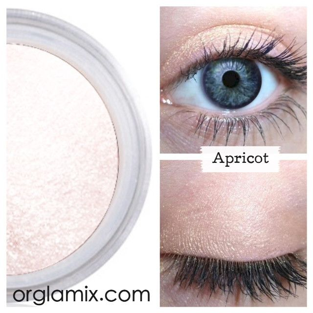Apricot Eye Shadow - Cruelty Free Makeup, Best Mineral Makeup, Natural Beauty Products, Orglamix