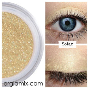 Solar Eyeshadow - Cruelty Free Makeup, Best Mineral Makeup, Natural Beauty Products, Orglamix
