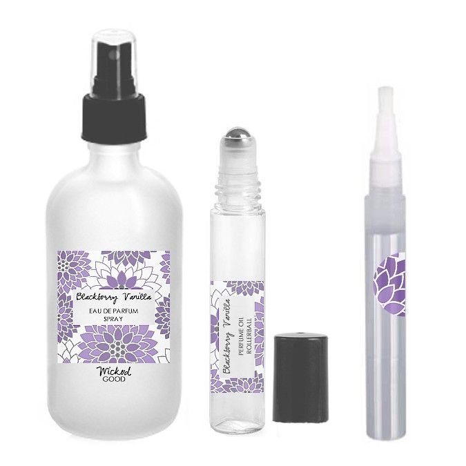 Blackberry Vanilla Perfume - Cruelty Free Makeup, Best Mineral Makeup, Natural Beauty Products, Orglamix