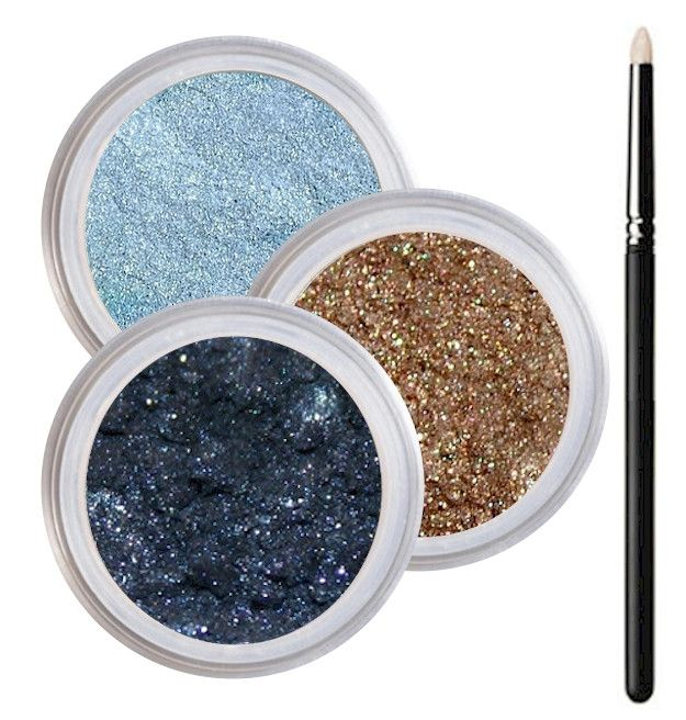 Blue Eyes Smokey Collection - Cruelty Free Makeup, Best Mineral Makeup, Natural Beauty Products, Orglamix